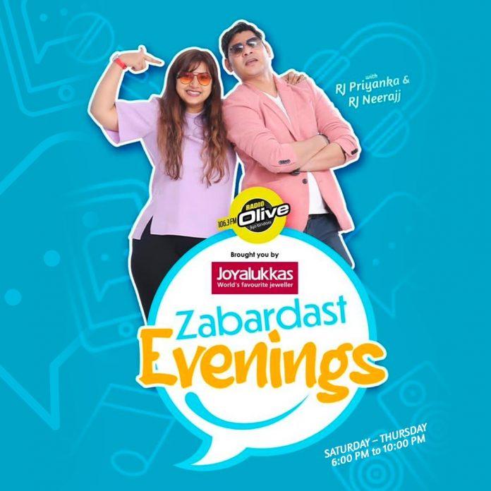 ZABARDAST EVENINGS